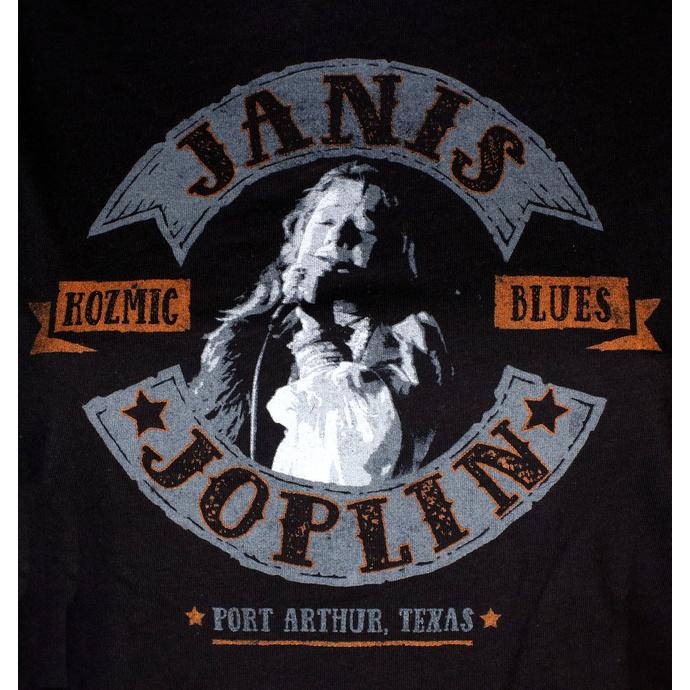 tričko dámské JANIS JOPLIN - KOZMIC BLUES - LIQUID BLUE