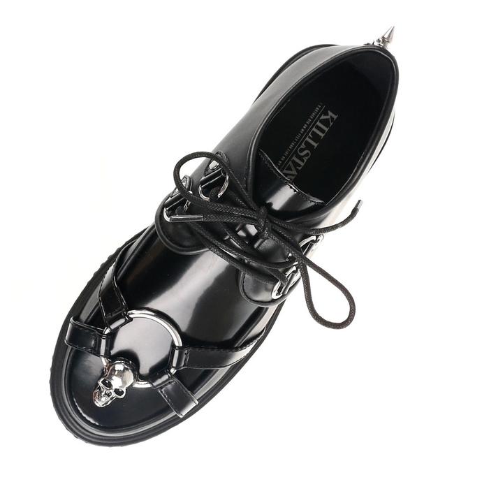 boty dámské KILLSTAR - Skeleton - BLACK