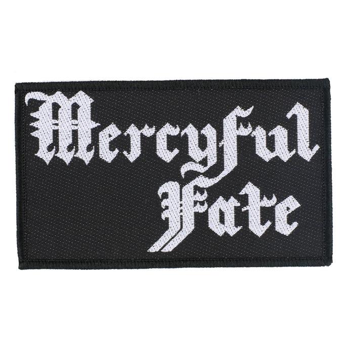 nášivka Mercyful Fate - Logo - RAZAMATAZ
