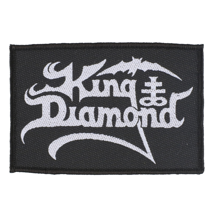 nášivka King Diamond - Logo - RAZAMATAZ