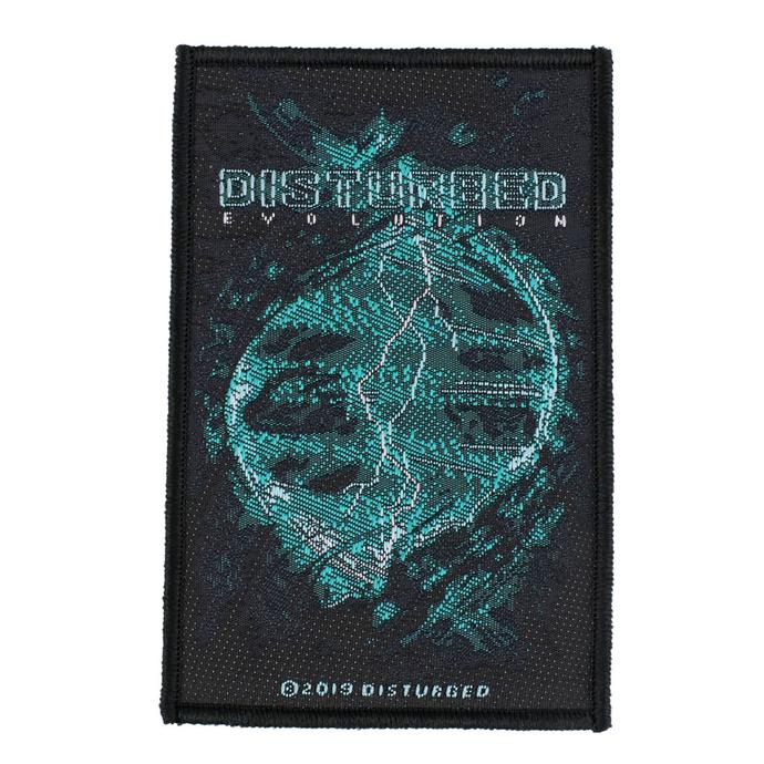 nášivka Disturbed - Evolution - RAZAMATAZ