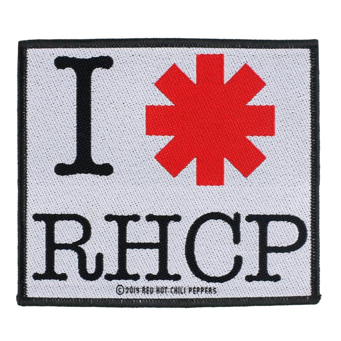 nášivka Red Hot Chili Peppers - I Love RHCP - RAZAMATAZ