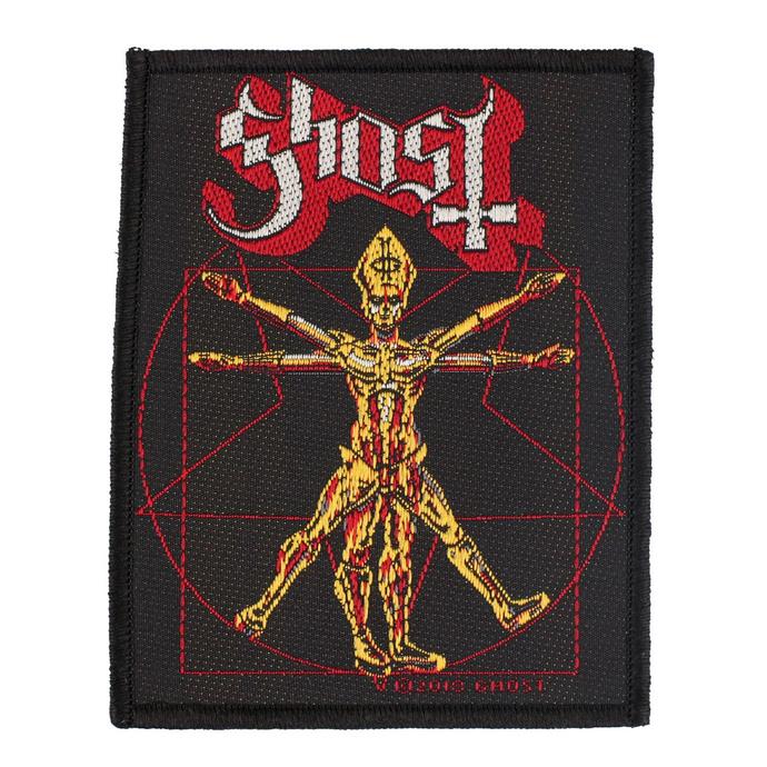 nášivka Ghost - The Vitruvian Ghost - RAZAMATAZ