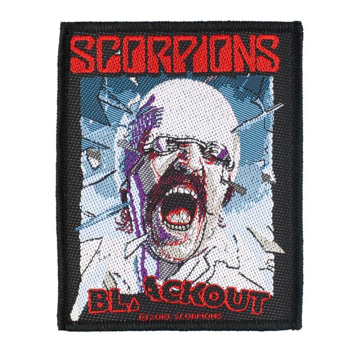 nášivka Scorpions - Blackout - RAZAMATAZ