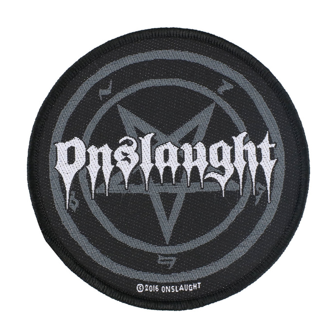 nášivka Onslaught - Pentagram - RAZAMATAZ