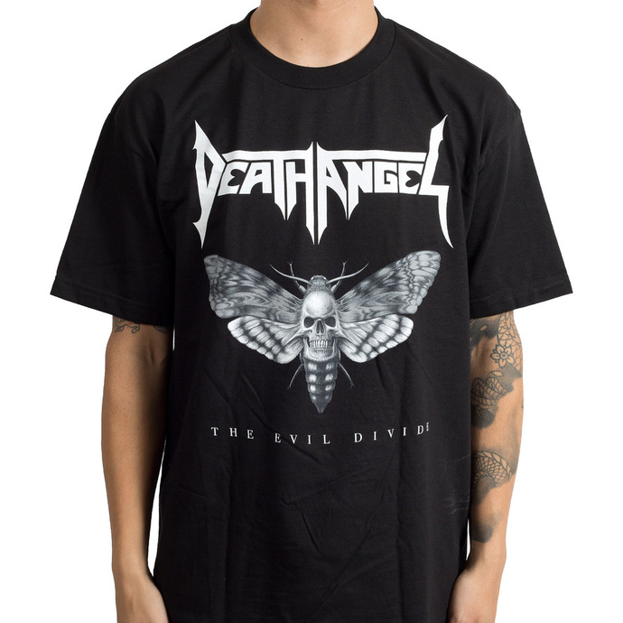 tričko pánské DEATH ANGEL - Evil Divide Moth - Black - INDIEMERCH