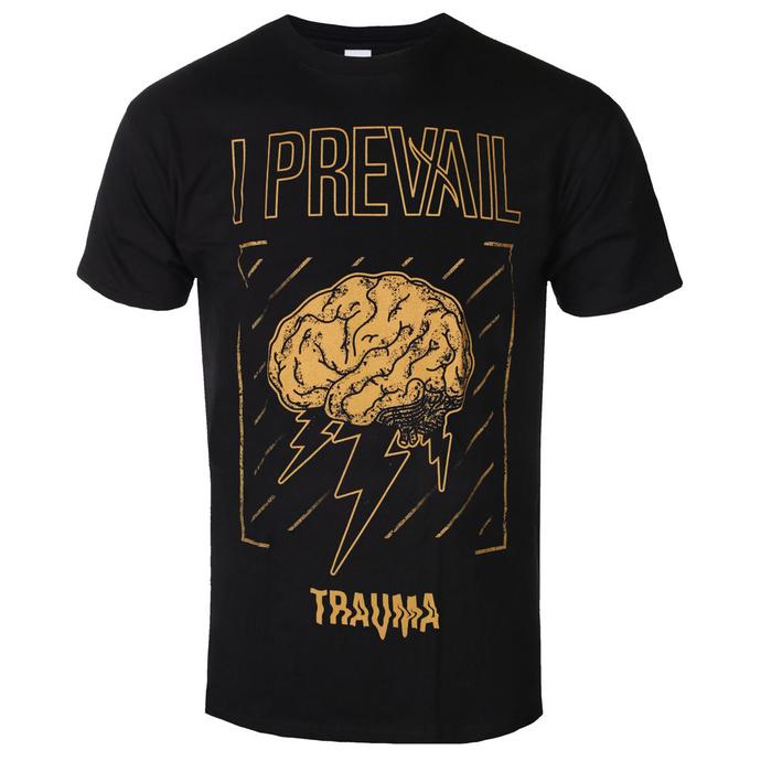 tričko pánské I Prevail - Brainstorm - Black - KINGS ROAD