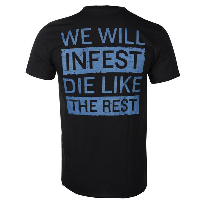 tričko pánské Papa Roach - Infest Death - Black - KINGS ROADS