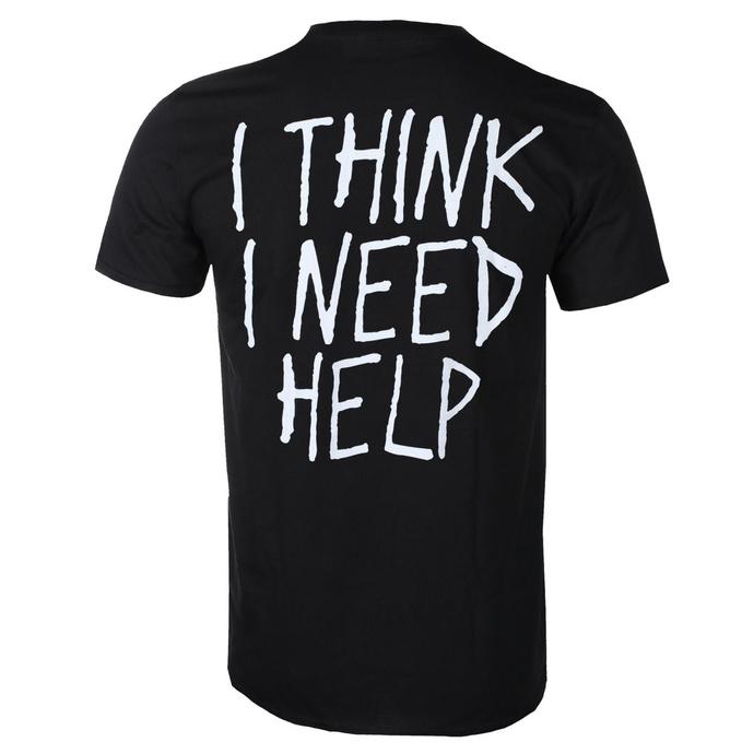 tričko pánské Papa Roach - Portrait - I Think I Need Help - Black - KINGS ROAD
