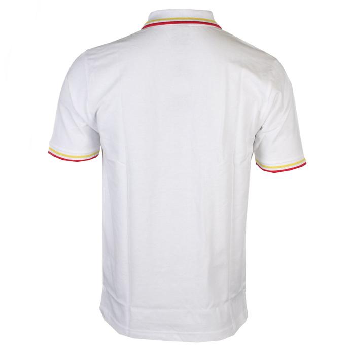 tričko pánské David Bowie - Flash - Logo Uni - WHT Polo - ROCK OFF