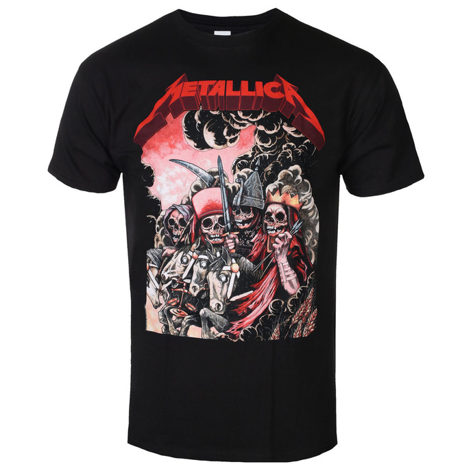 tričko pánské Metallica - Four Horsemen - Black