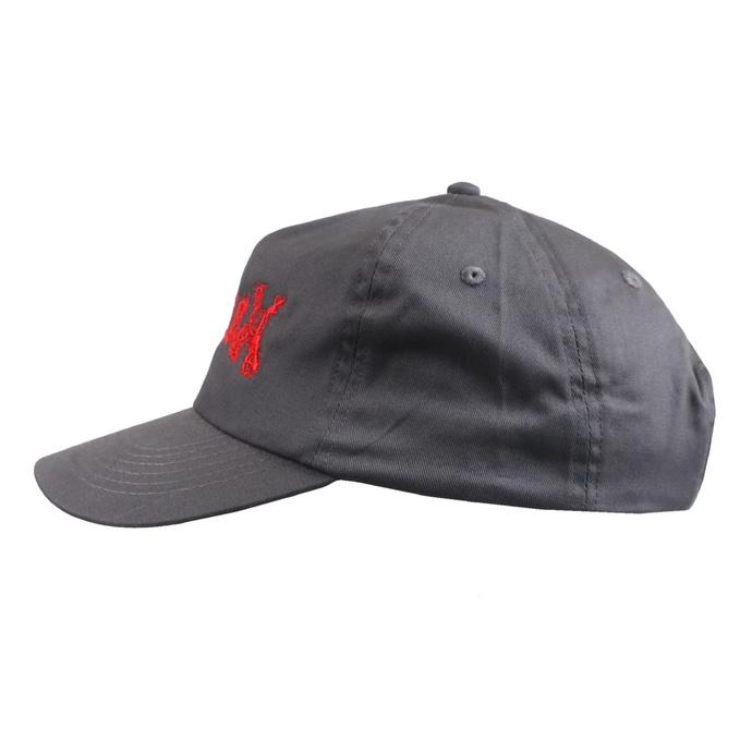 kšiltovka GUTALAX - grey - red Logo - ROTTEN ROLL REX