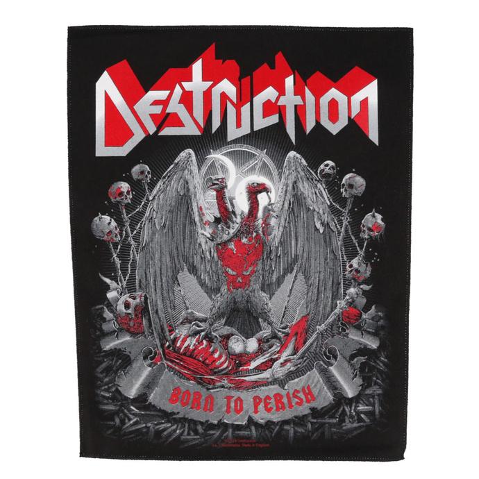 nášivka velká Destruction - Born to Perish - RAZAMATAZ