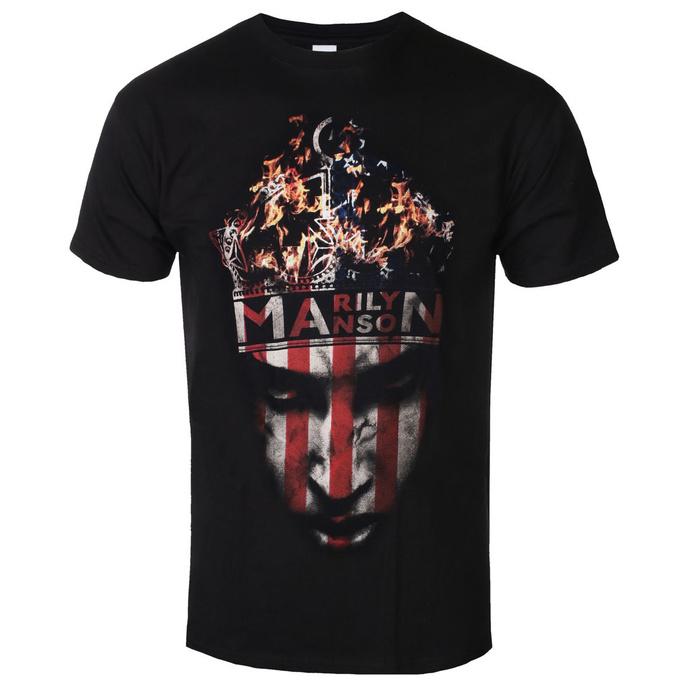 tričko pánské Marilyn Manson - Crown - ROCK OFF