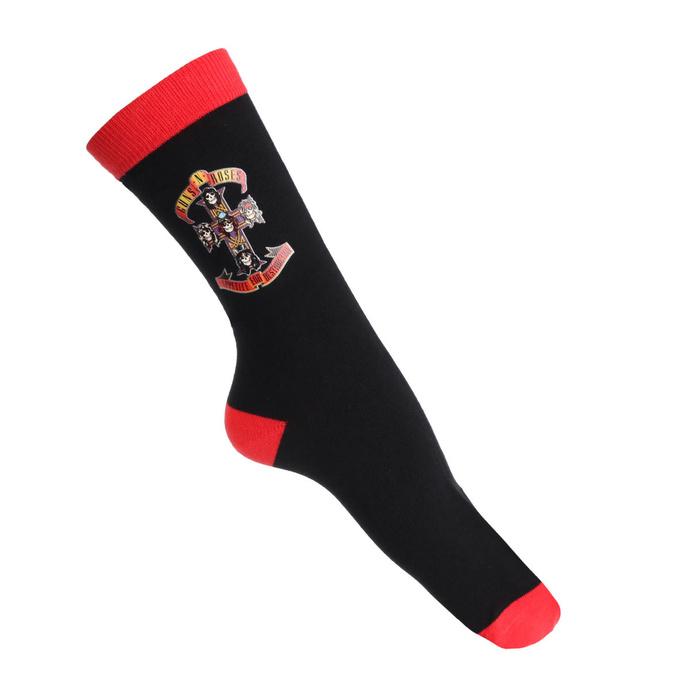 ponožky Guns N' Roses - Appetite Cross - ROCK OFF
