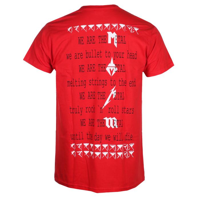 tričko pánské MALIGNANT TUMOUR - We Are The Metaal - RED