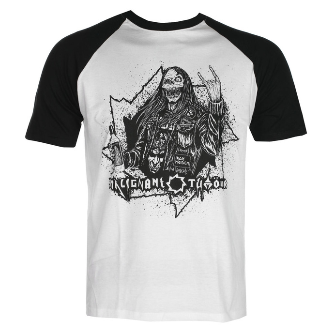 tričko pánské MALIGNANT TUMOUR - Nación De Metaleros - WHITE/BLACK