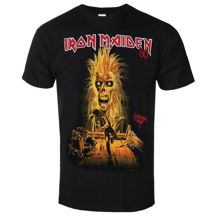tričko pánské Iron Maiden - Debut Album 40th Anniversary - ROCK OFF