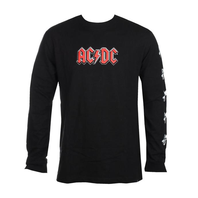 tričko pánské s dlouhým rukávem DC - AC/DC - ABOUT TO ROCK - BLACK