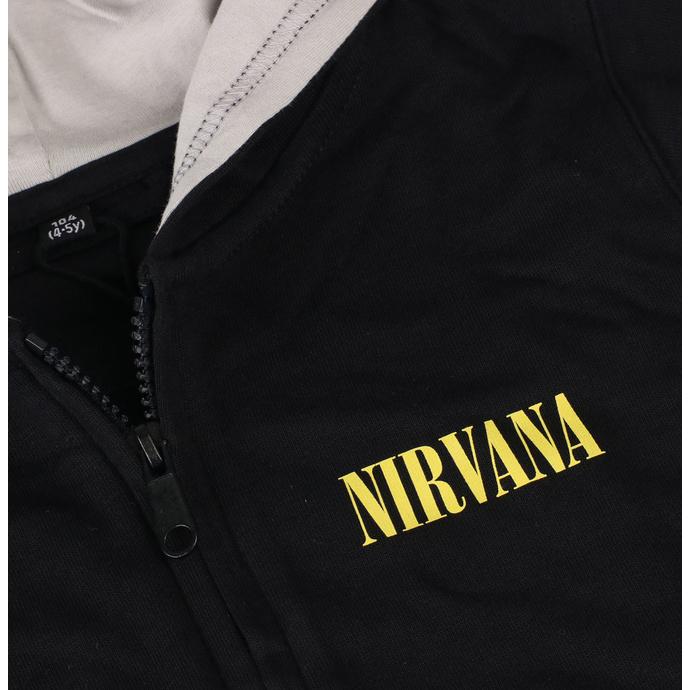 mikina dětská Nirvana - Smiley - Metal-Kids