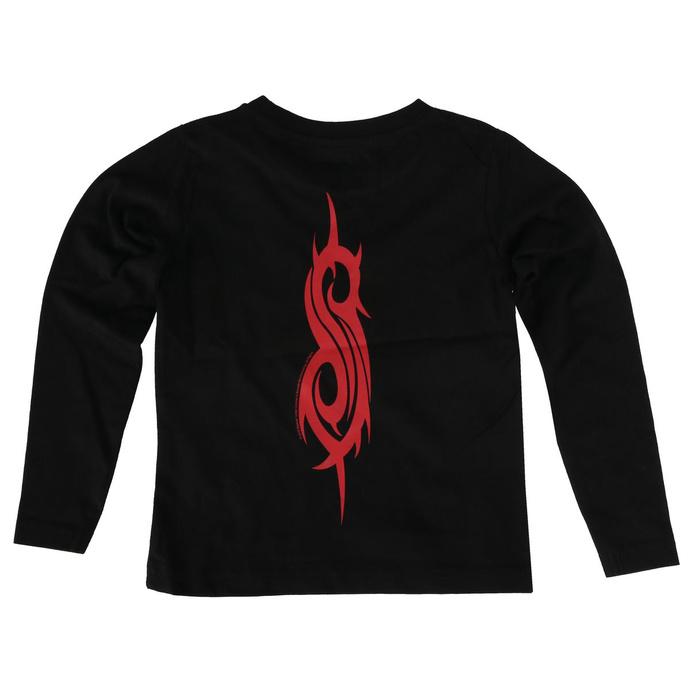tričko dětské s dlouhým rukávem Slipknot - Logo - Metal-Kids