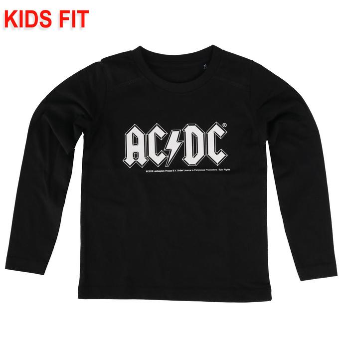tričko dětské s dlouhým rukávem AC/DC - Logo - Metal-Kids