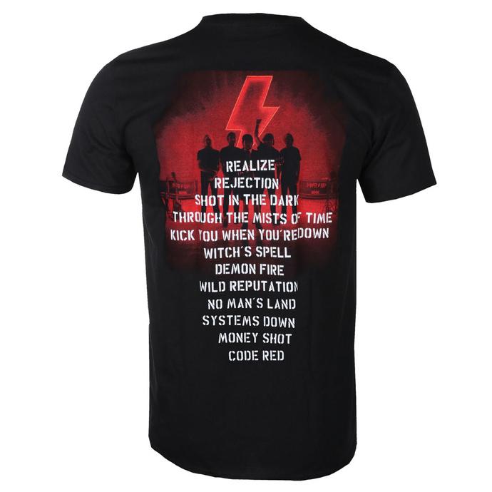 tričko pánské AC/DC - Power Up - Track List - Black