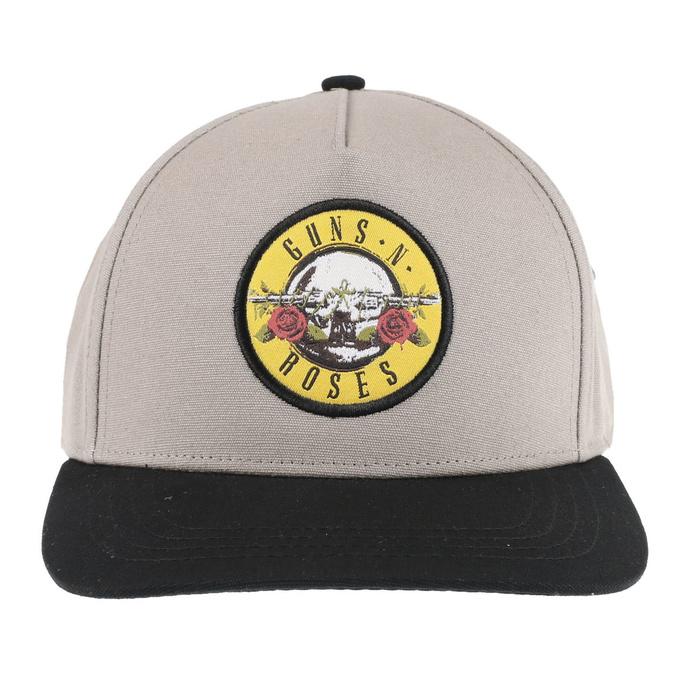 kšiltovka Guns N' Roses - Circle Logo - SAND/BL - ROCK OFF
