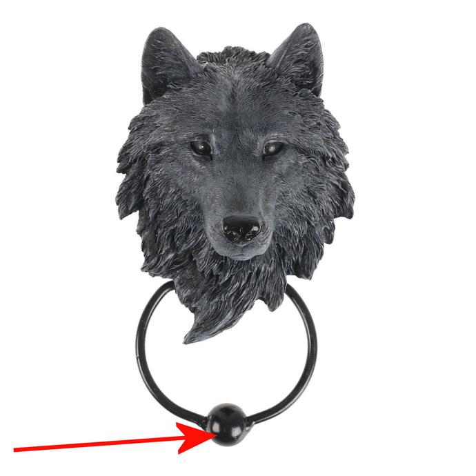 klepadlo Dark Guardian Wolf - U3877K8 - POŠKOZENÉ