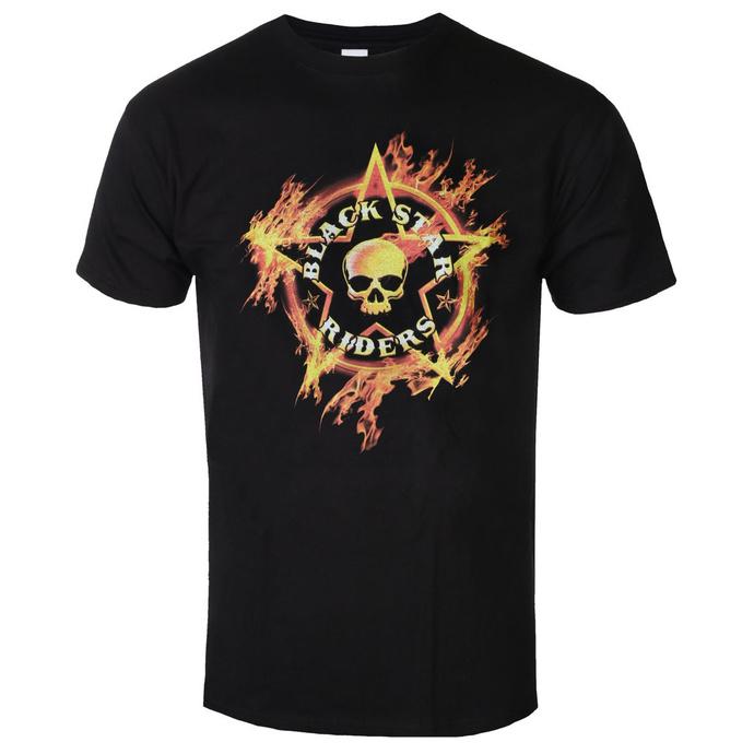 tričko pánské BLACK STAR RIDERS - FLAMING SKULL - BLACK - GOT TO HAVE IT