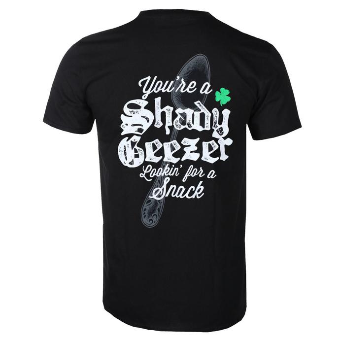 tričko pánské Dropkick Murphys - Shady Geezer - Black - KINGS ROAD
