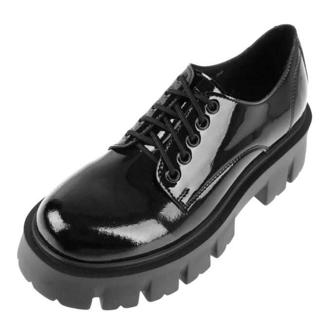 boty dámské ALTERCORE - Deidra Vegan - Black Patent
