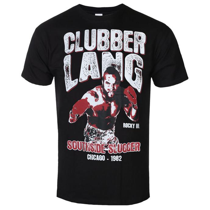 tričko pánské Rocky - Clubber Lang - Black - HYBRIS