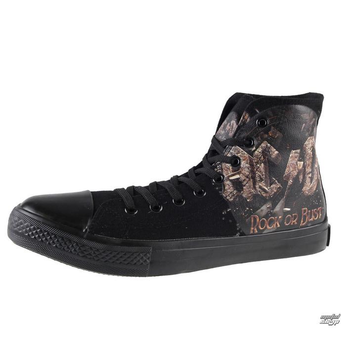boty AC/DC - Rock Or Bust - Black -  F.B.I. - 4510242 - POŠKOZENÉ