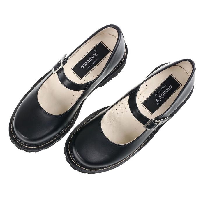 boty dámské (baleríny) STEADY´S - Rock black - STE/ROCK_black - POŠKOZENÉ
