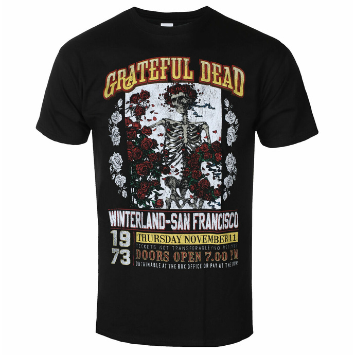 tričko pánské Grateful Dead - San Francisco - ROCK OFF