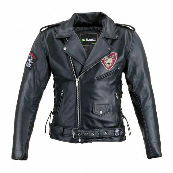 bunda pánská (křivák) BLACK HEART - PERFECTIS - BLACK - 029-0015-BLK - POŠKOZENÝ