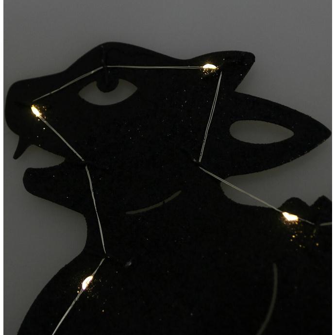 dekorace zahradní ALCHEMY GOTHIC - Black Cat