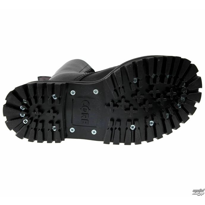 boty ALTERCORE - 14dírkové - Black - 352 - POŠKOZENÉ