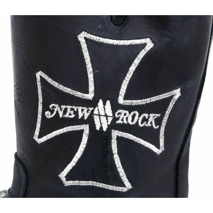 boty NEW ROCK - 7622-S1 - Itali Negro - POŠKOZENÉ
