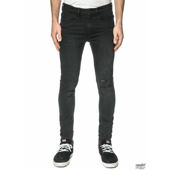 kalhoty pánské (jeans) GLOBE - G.04 Skinny - Beat Down Black - GB01736005-BTDWNBLK - POŠKOZENÉ