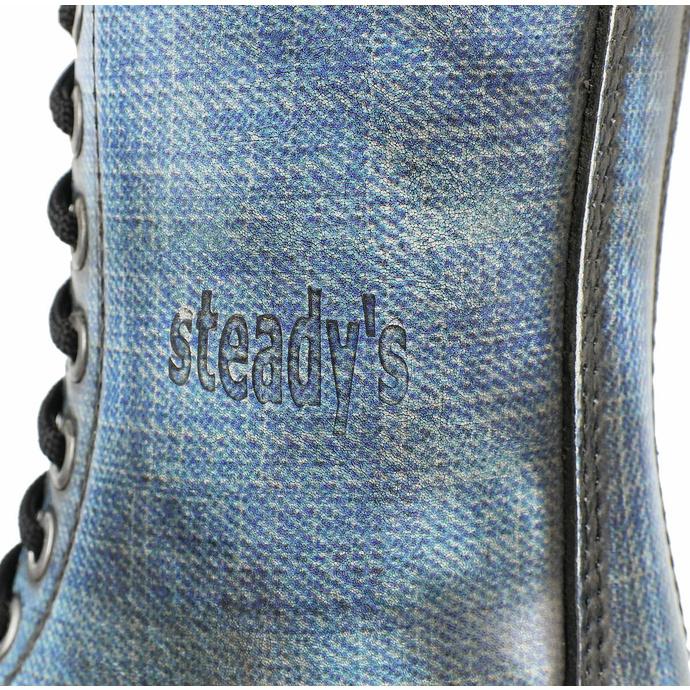 boty STEADY´S - 10 dírkové - Jeans