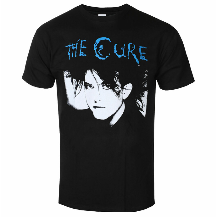 tričko pánské THE CURE - black & blue