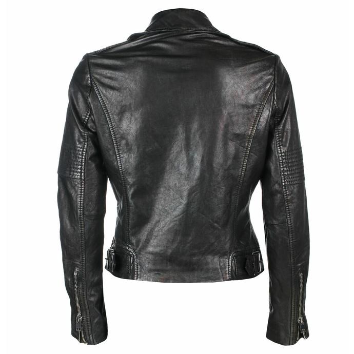 bunda dámská (křivák) G2G Wona - SF LAMEV - Glossy Black