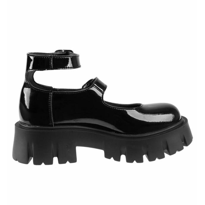 boty dámské ALTERCORE - Constance Vegan Black Patent
