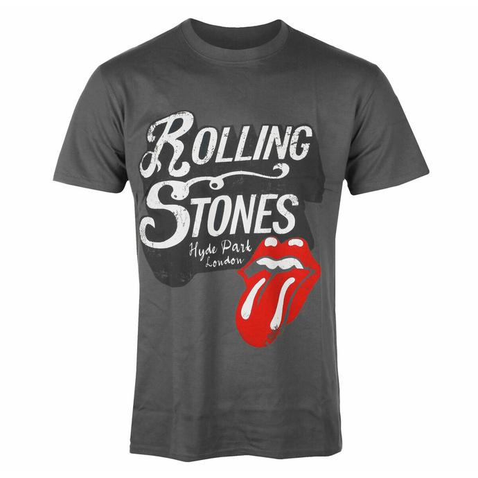 tričko pánské Rolling Stones - Hyde Park CHAR - ROCK OFF