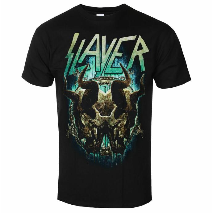 tričko pánské Slayer - Daemonic Twin BL - ROCK OFF
