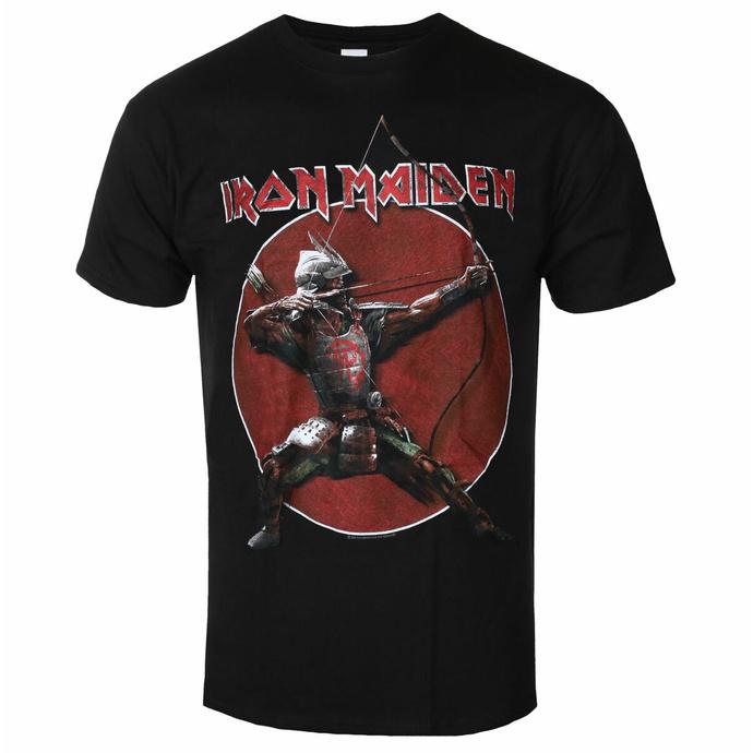 tričko pánské Iron Maiden - Eddie Archer Red Circle BL - ROCK OFF