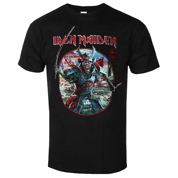 tričko pánské Iron Maiden - Eddie Warrior Circle BL - ROCK OFF