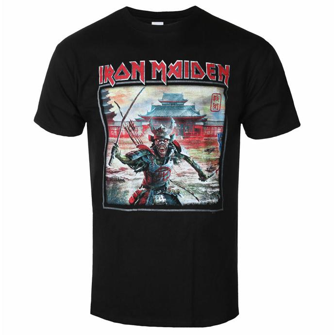 tričko pánské Iron Maiden - Album Palace Keyline Square BL - ROCK OFF